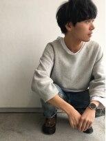ヘアメイク オブジェ(hair make objet)ゆるふわメンズマッシュ KAI