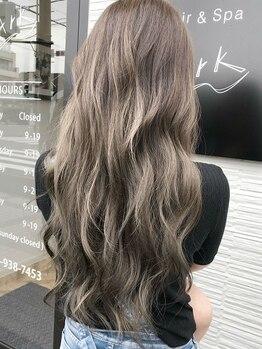 ヘアーアンドスパ アーク(Hair&Spa ARK)の写真/透明感のある艶髪へ!トレンドを取り入れあなただけのスタイルに☆
