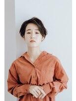 コットン(cotton)『ハンサムshort』な『黒髪short』