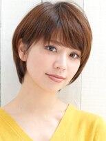 【奈良/富雄nao*c】笑顔が似合う☆大人かわいい丸みショートヘア