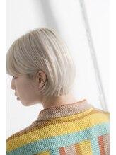 ミエル ヘア 新宿(miel hair)ホワイトミルクティー/ダブルカラー/ゴールドベージュ