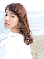 バタフライ(butterfly)【butterfly常盤 】綾瀬はるか 風 ロング ピンクカラー