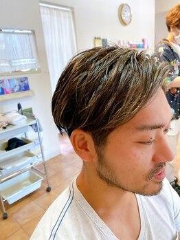 ヘアーアート ジュース テヅカヤマ(Hair art Juice TEZUKAYAMA)の写真/学生~ビジネスマンまで幅広いメンズスタイルに対応◎再現性×清潔感なら《Hair art Juice》で決まり!
