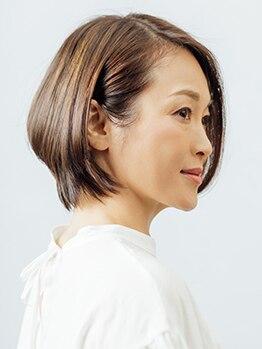 カミオナイン(KAMIO 9)の写真/10年以上の経験が生んだ再現性の高さに、自分らしさを求める大人女性から高支持!!思い通りのスタイルに!