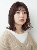 ロッジ 原宿店(RODGE)【nana】ラベンダーブラウン ボブ ダブルバング