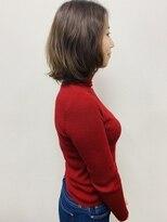 アールピクシー(Hair Work's r.Pixy)ミディアムボブ × ゆるパーマ
