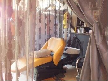 サン(hair room sun)の写真/【カット+ビーワンヘッドスパ¥6000】SUNの極上ヘッドスパ★心地良いリラックスタイムを…