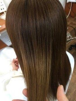 モデスト(modesto)の写真/【従来の縮毛ではない!!】<アルキルGMT酸性縮毛+カット+ナノスチ-ム¥16500>お気軽にご相談下さい♪