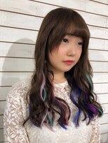 ビーヘアサロン(Beee hair salon)【渋谷エクステ・カラーBeee/安部 郁美】A/W NewStyle