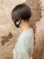 マギーヘア(magiy hair)magiyhair【nico】刈り上げ女子 ハンサムショート