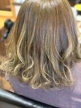 ヘアースタジオ ビームス 西江井ヶ島店(Hair Studio BEAMS)ハイライトカラー
