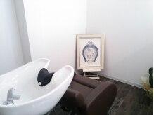 ヘアスタジオ シエル(Hair Studio Ciel)の雰囲気(シャンプー台は他のお客様からは見えないプライベート空間です♪)