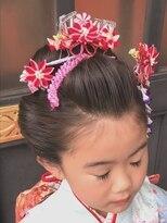 ソラ ヘアデザイン(Sora hair design)七五三*日本髪*