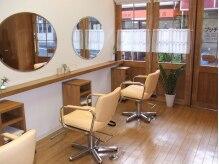 ビューティーサロン シュール(Beauty Salon sur)の雰囲気(ナチュラルで温もりのある空間でひと時を・・・)