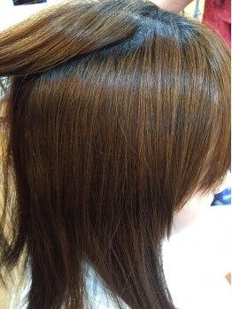 ロコピカロ ミュゼ(LOCOPICARO MUSSE)の写真/【西条☆】自然なストレートで誰もが羨むツヤ髪に♪手触りの違いを実感して欲しい◎
