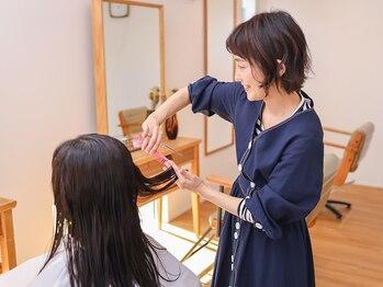ニコットヘア(nicotto hair)の写真/あなたのなりたいを叶えるサロン♪経験豊富なスタイリストが自宅でのメンテナンスをしっかりお伝えします★