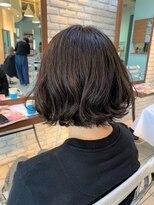 ヘアーアンドメイク ツィギー(Hair Make Twiggy)☆ラフハネ切りっぱなしボブ☆