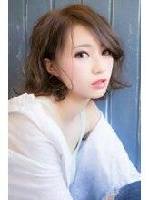 カパリリ(kapalili)抜け感+最旬♪うるツヤパーマ&カラー