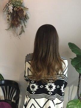 ヘアー スペース オフ(Hair Space Off)グラデーションカラー