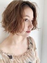 フランチェスカ(Francesca)【杉本つかさ】小顔かわいいボブ☆セミウェットウェーブ