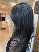 アルファ インタラクティブ エム フラワー(ALUFA interactive.M Flower)20代30代贅沢ナノミスト導入!ナチュラルな艶髪ロングスタイル