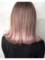 エマ(Emma)グラデーションカラー ピンクアッシュ