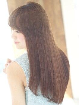 ロンド レグリーズ 立川(Lond leglise)の写真/[Cut+フルカラー+Tr¥7980]ヘッドスパ付。ハホニコ・ケラスターゼ他'本当に'良い物を厳選。本格的な髪質改善