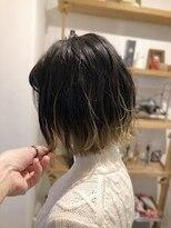 ビーチェ 渋谷(Bice)毛先のアクセントカラー×ニュアンスボブ【Bice渋谷】