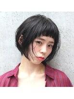 フェス カットアンドカラーズ(FESS cut&colors)『FESS 鶴丸』【エアリーショートボブ×似合わせカット】