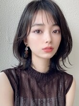 シルクレイ(Silk-lei)【Silk-lei銀座】くびれミディ小顔韓国ヘア★透け前髪20代30代