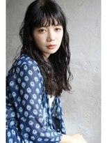 ロングウェーブ/シースルーバング【soi下北沢】
