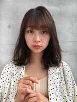 ガーデントウキョウ(GARDEN Tokyo)【GARDEN 田中麻由】小顔ミディアム×ブランジュベージュカラー