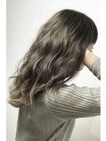 フレイムスヘアデザイン(FRAMES hair design)外国人風カラー×ハイライト×波ウェーブセミロング