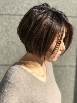 コムチュヴ(Comme tu veux)の写真/【ご新規様限定★Aujuaトリートメント+カット¥4675】髪質診断をしてAujuaトリートメントで美髪へ髪質改善!