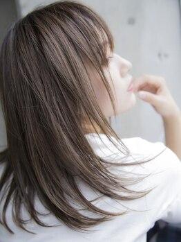 ヘアーアンドメイク ファット(Hair&Make PHAT)の写真/塩釜口●ストレートリピート率90%超!PHATオリジナル技術で思わず触りたくなる《サラ艶美髪》を実感♪