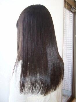 スパイス(hair salon SPICE)の写真/【久里浜】ALL20%OFF!!縮毛矯正にも適用OK♪オイルトリートメントのホームケア付だから、艶サラが長続き!