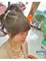 盛り髪(盛りヘア)の キューティ ☆ セット画像