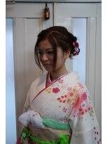 編みこみセットスタイル