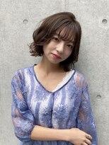 ソレイユ(Soleil)抜け感ヘア/シースルー前髪/ベージュ系カラー