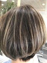 ヘアーガーデンロルド(hair garden Rold)憧れ外国人風透明感カラーで、立体感あるふんわり感ボブ♪