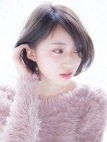 デフ(def,)小顔ショートボブ【privatehairsalonT_下北沢_今間】