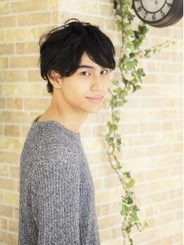 アゴラ(AGORA HAIR DESIGN)の写真/お洒落男子に好評☆agoraに来ればカッコよくなれる♪気さくに相談できるのが人気の理由です!