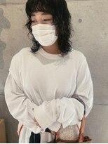 【liko】黒髪_パーマ