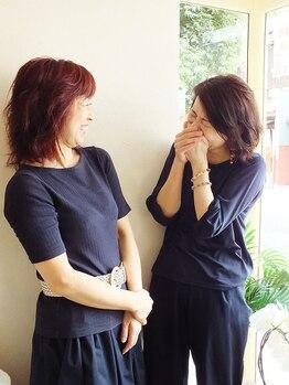 アヴァンセ(AVANCER)の写真/[北大路]経験豊富な女性スタイリストのみ★絶妙な距離感であなたの髪の悩みと向き合ってくる♪