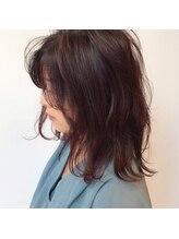 前髪のカールや、トップのボリューム感に物足りなさを感じたら部分パーマで解決!!