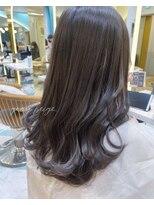 ロンドプランタン 恵比寿(Lond Printemps)グレージュカラー 透明感カラーミディアムヘア