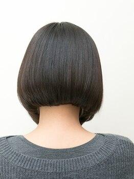 インデックスヘア 北砂店(indexhair)の写真/経験豊富なStylistが髪質や骨格,髪のクセ,毛流れなどを計算してカットするから毎朝のセット時間が短縮に◎