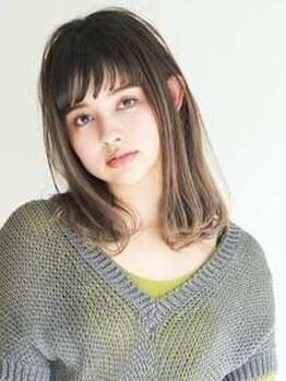 """ヘアサロンガリカアオヤマ(hair salon Gallica aoyama)の写真/""""オマカセでOK""""のスタイリストがアナタに似合うスタイルを提案☆似合うのには理由がある。"""