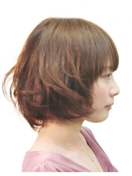 ヘアーデザイン ゴールド(Hair design GOLD)の写真/≪当日1時間前まで予約OK♪≫オーナースタイリストのドライカットで、ぴったりのヘアスタイルを実現☆