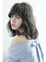 アフロート ルヴア 新宿(AFLOAT RUVUA)エアリーな透明感の最新グレージュ☆#ひし形シルエット